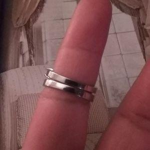 💖💝Stunning? White/Sapphire/Rings,set/sz,6💗💖